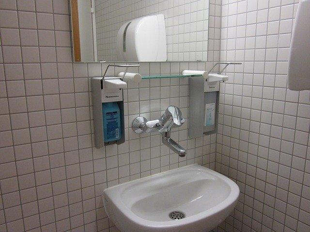 kachličková koupelna