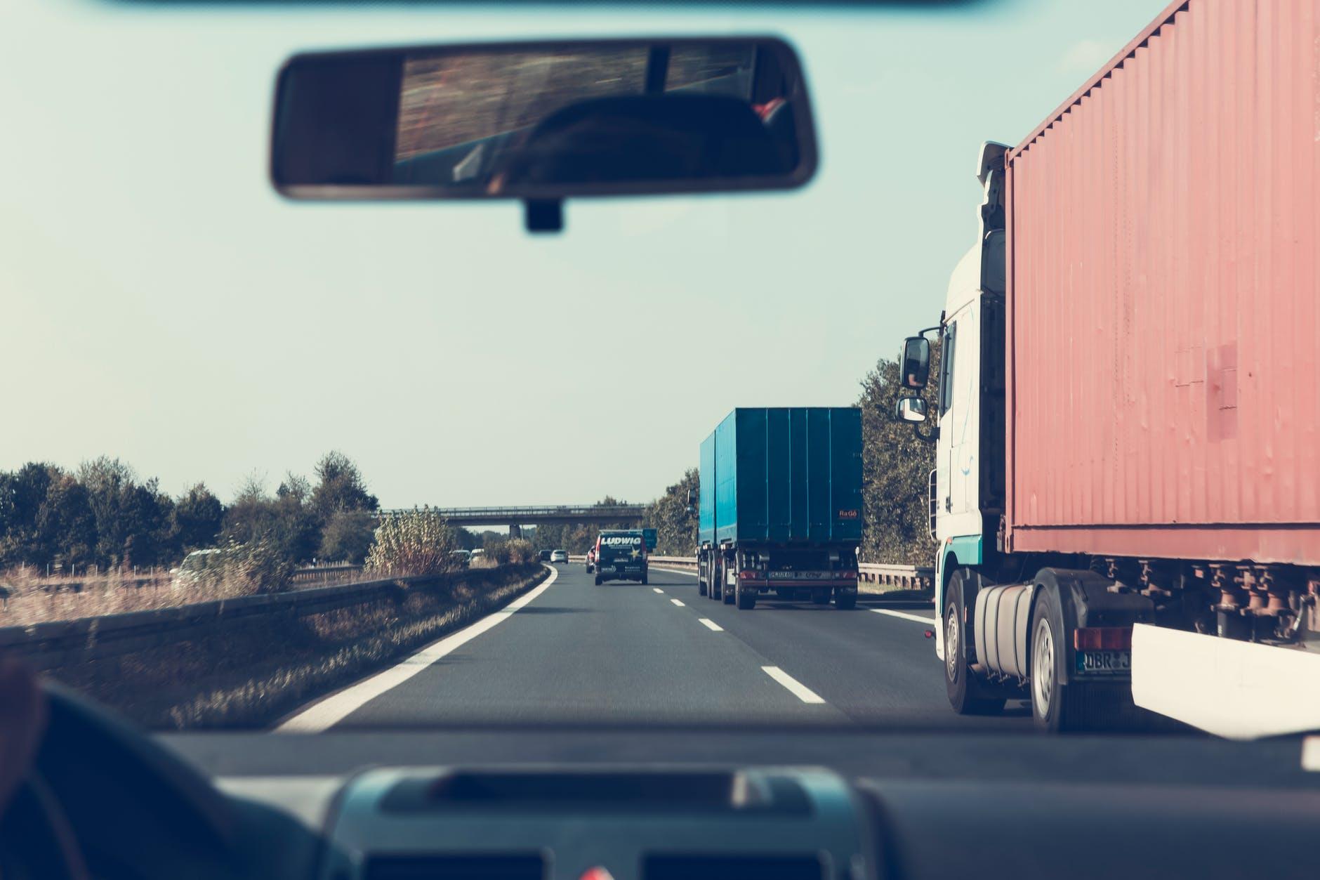 kamion dálnic