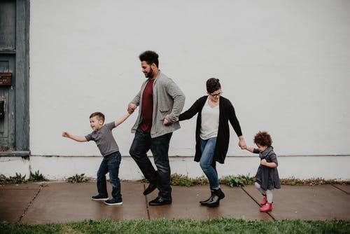 rodina děti